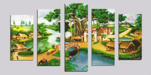 Tranh decor – tranh bộ – Tranh treo tường
